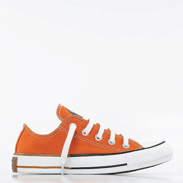 Tênis Converse All Star Chuck Taylor Ox - Vermelho Ferrugem/Preto