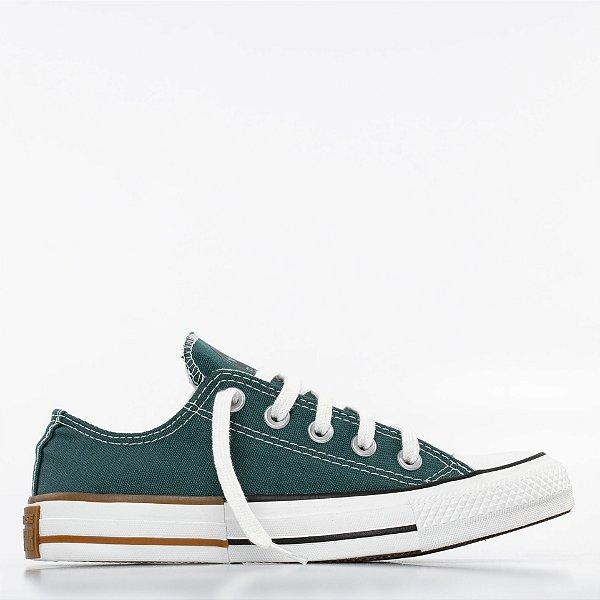 Tênis Converse All Star Chuck Taylor Ox - Verde Escuro/Preto