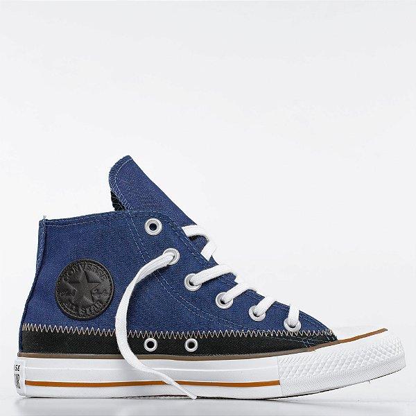 Tênis Converse All Star Chuck Taylor Hi - Jeans Marinho/Preto