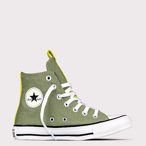 Tênis Converse All Star Chuck Taylor Hi - Verde Campestre