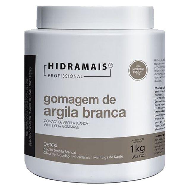 Creme Gomagem De Argila Corporal 1kg  Hidramais