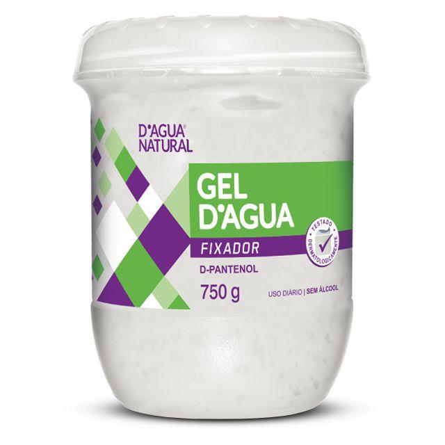 Gel Fixador 750g D'Agua Natural