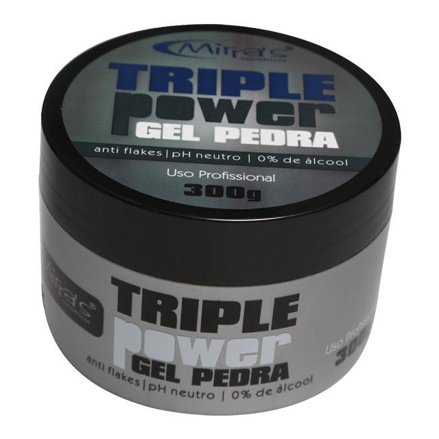 Gel Pedra Triple Power 300g Mirra's