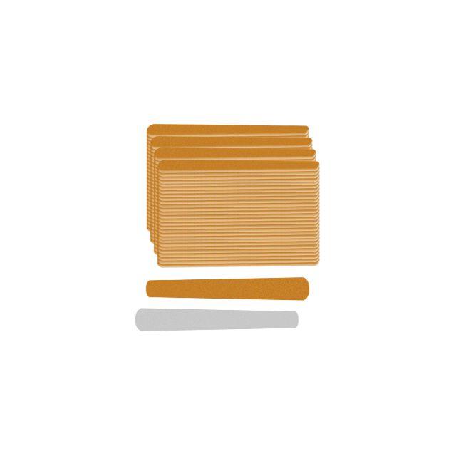 Lixa Extra Parda Mini 8cm Com 144 Unidades Santa Clara