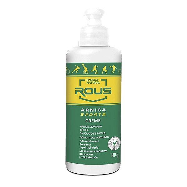 Creme de Massagem Rous Arnica Sports 140g D'Água Natural