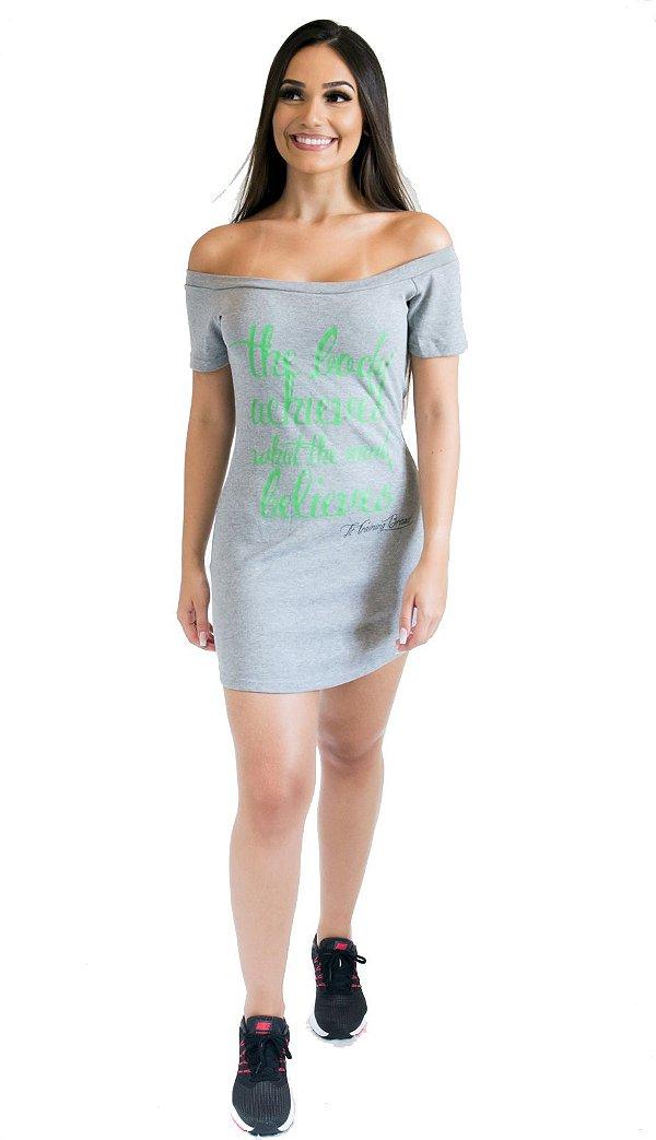 Vestido The Body - Cinza