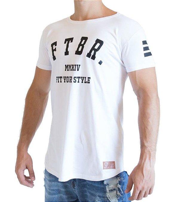 Camiseta Longline - FTBR - Branca