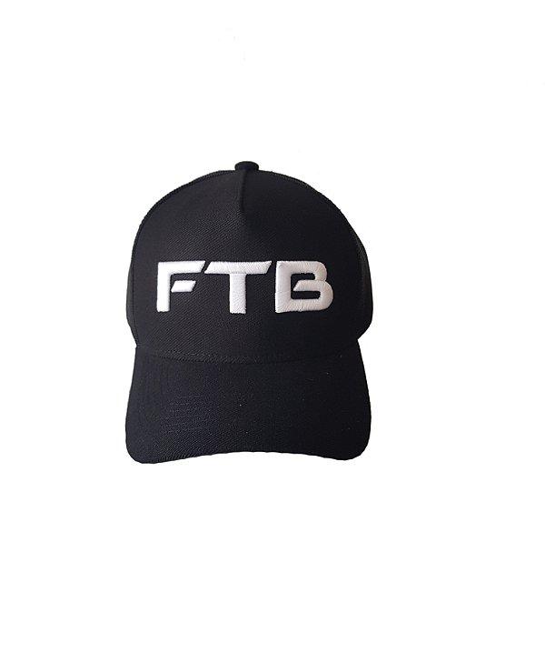 Boné Trucker FTB - Preto