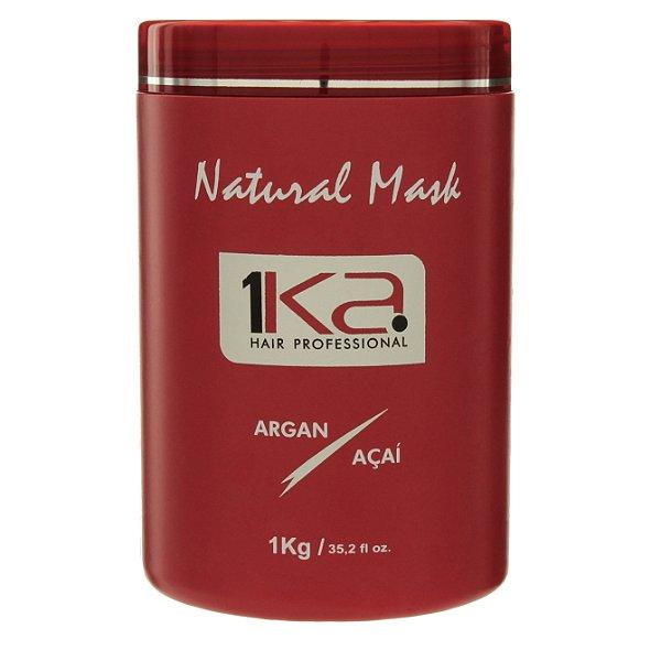 1ka Máscara Super Hidratante Natural Mask Argan E Açaí 1kg