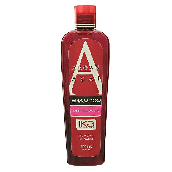 1ka Shampoo Pós Selagem Química Argan Açaí 500ml