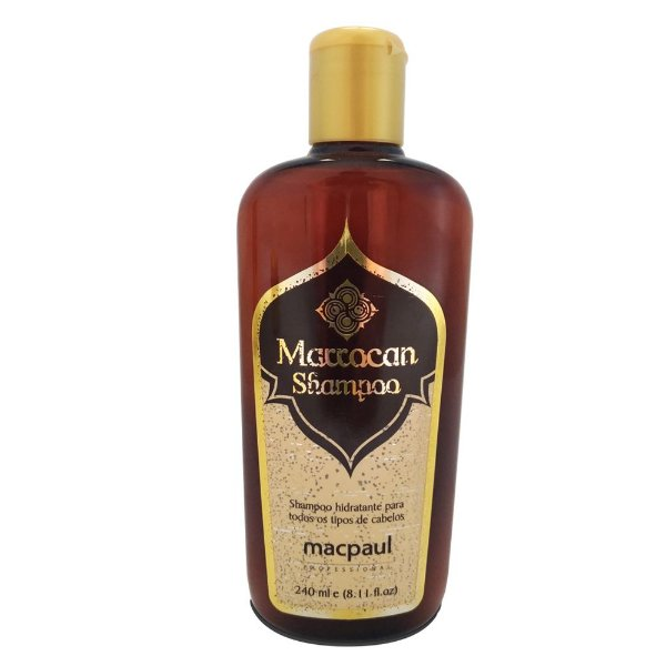 Mac Paul Marrocan Shampoo Hidratante Oleo De Argan 240ml