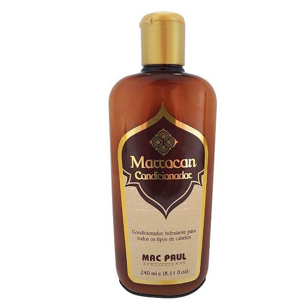 Mac Paul Marrocan Condicionador Hidratante Oleo Argan 240ml