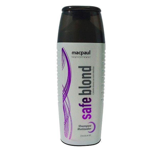 Mac Paul Safe Blond Violeta Shampoo Matizador 250ml