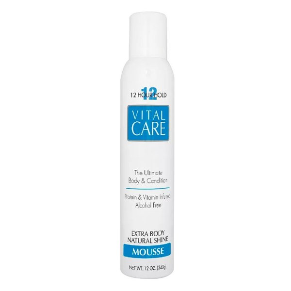 Vital Care Mousse 12 Hours Hold 340g