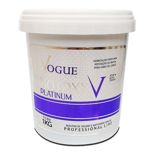 Vogue Redutor De Volume Botoxx Platinum Matizante V 3.0 1kg