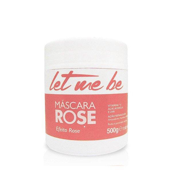 LET ME BE MÁSCARA ROSE RESTAURADORA 500G