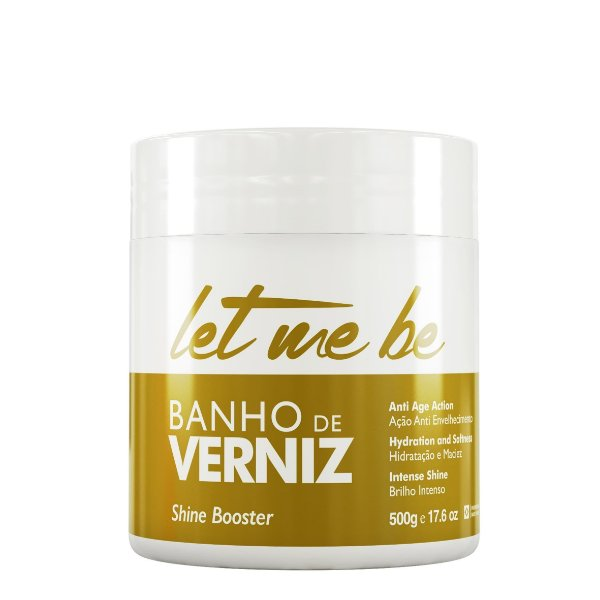 LET ME BE BANHO DE VERNIZ BRILHO INTENSO 500G