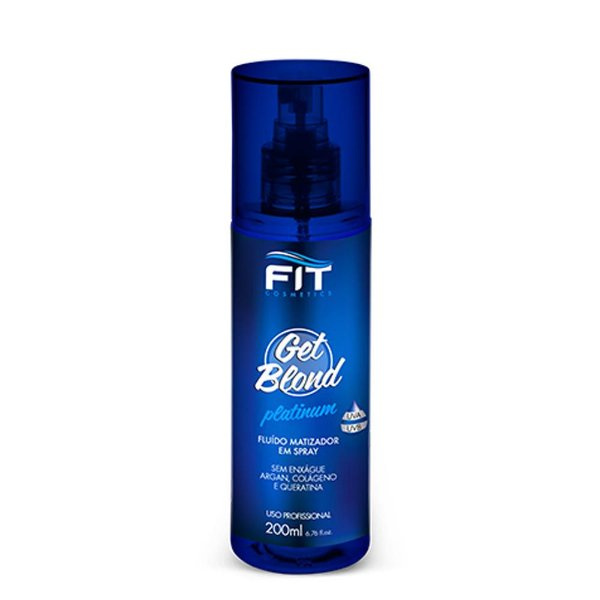 FIT COSMETICS GET BLOND PLATINUM FLUIDO MATIZADOR 200ML