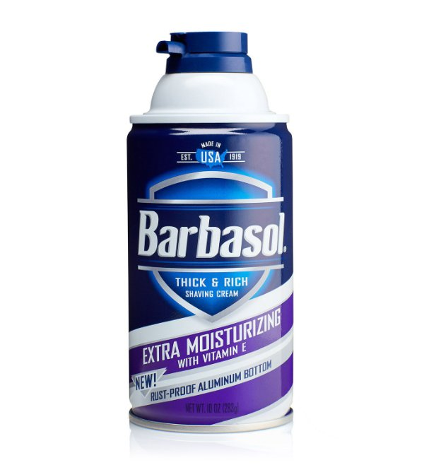 Barbasol Extra Moisturizing Espuma de Barbear Importado 283g