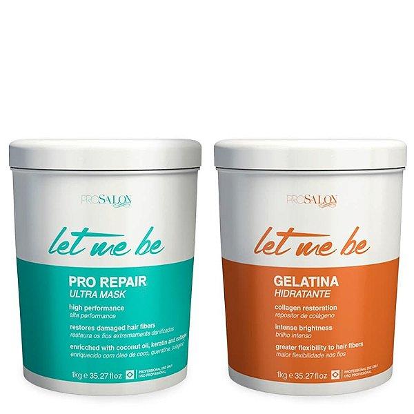 Let Me Be Kit Botox Pro Repair + Gelatina Hidratante 1000g