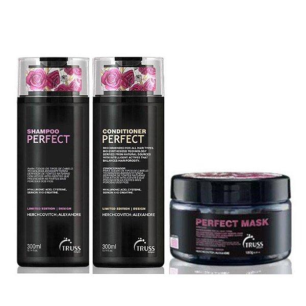 Truss Herchcovitch Alexandre Perfect Shampoo + Condicionador + Máscara