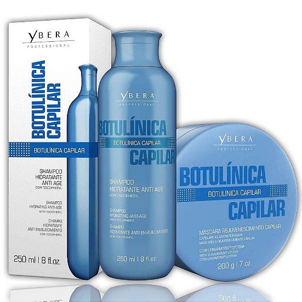 Kit Ybera Shampoo E Máscara Manutenção Botulínica Capilar