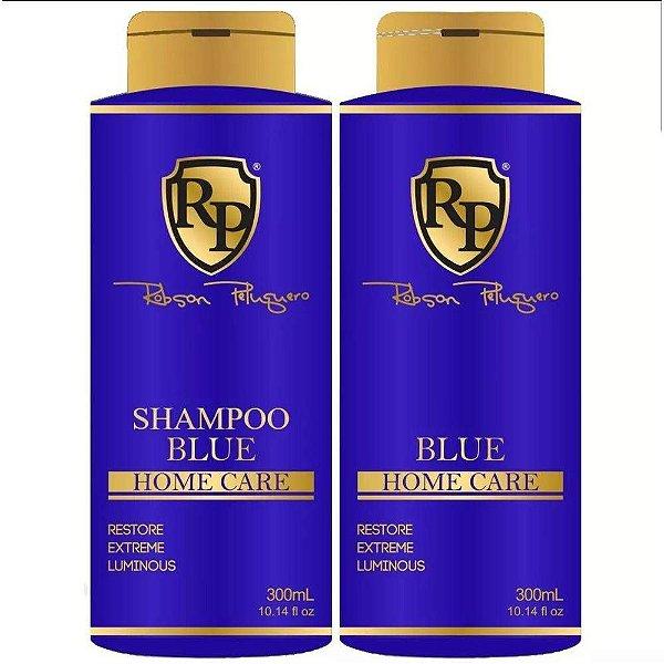 ROBSON PELUQUERO KIT SHAMPOO E MATIZADOR BLUE 300ML
