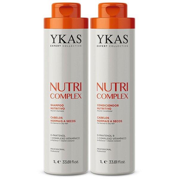 Kit Ykas Nutri Complex Shampoo + Condicionador