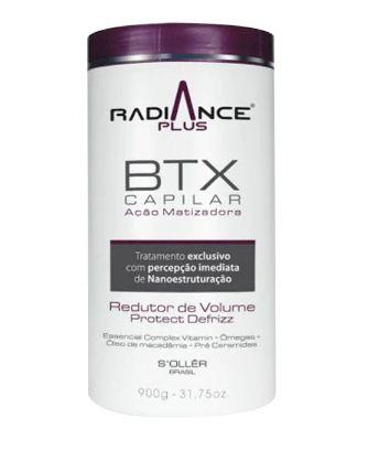 Radiance Plus Btx Capilar Ação Matizadora 900g