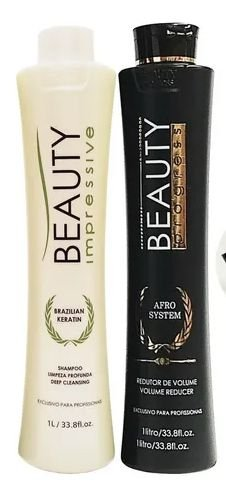 Kit Progressiva Beauty Impressive Afro System 1l