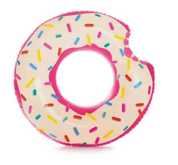 Boia Donut Rosquinha Gigante Rosa 110 cm