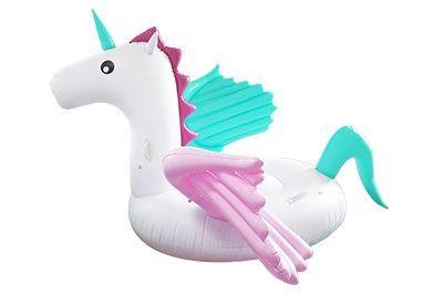 Boia de Unicórnio Gigante Pegasus Candy 260 cm