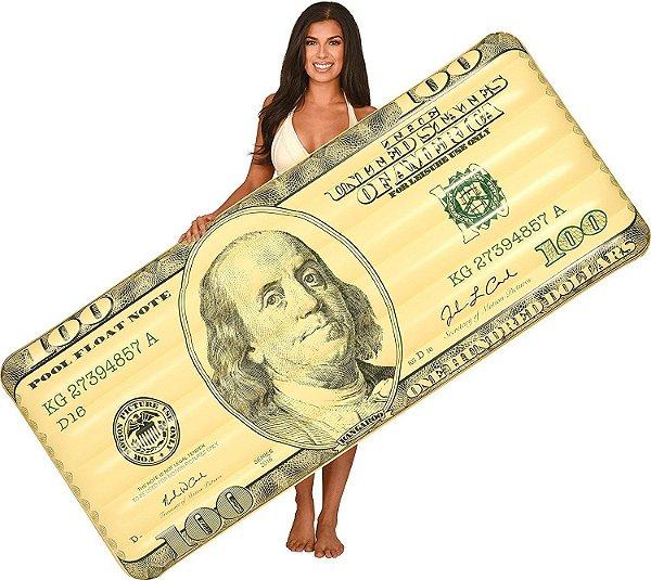 Boia Colchão Dólar Gigante 180 cm
