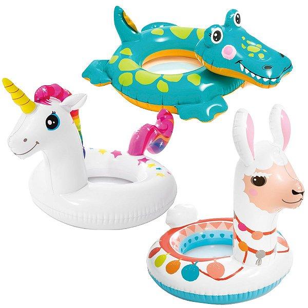 Boia Inflável Infantil Circular Zoo Vários Animais
