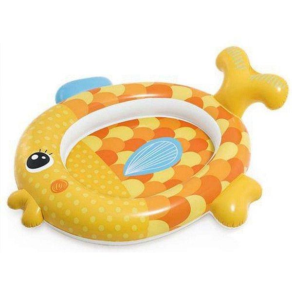 Piscina Inflável Infantil Peixinho Dourado 36 Litros Intex
