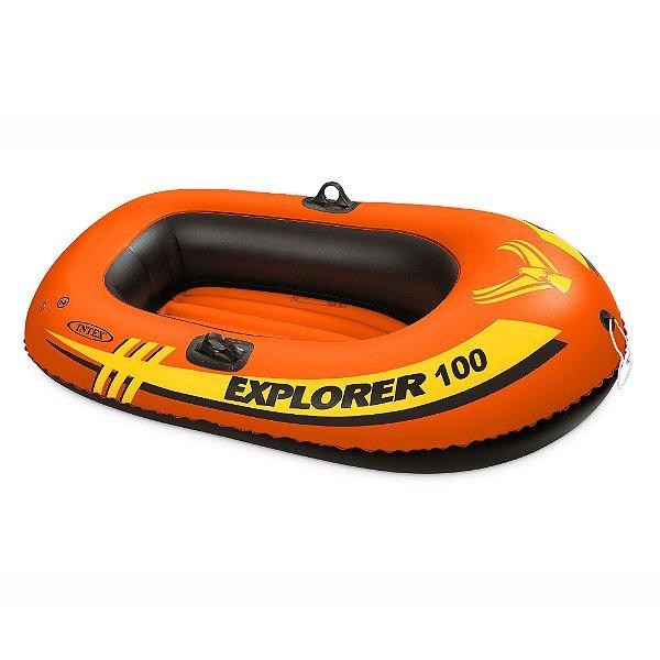 Bote Inflável Infantil Explorer 100 Intex 147 cm
