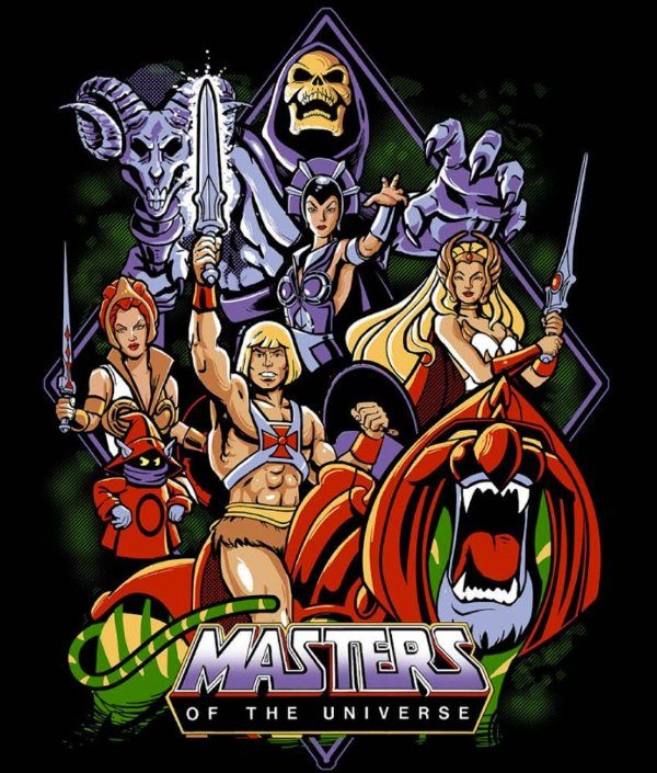 Camiseta Personagens He-Man