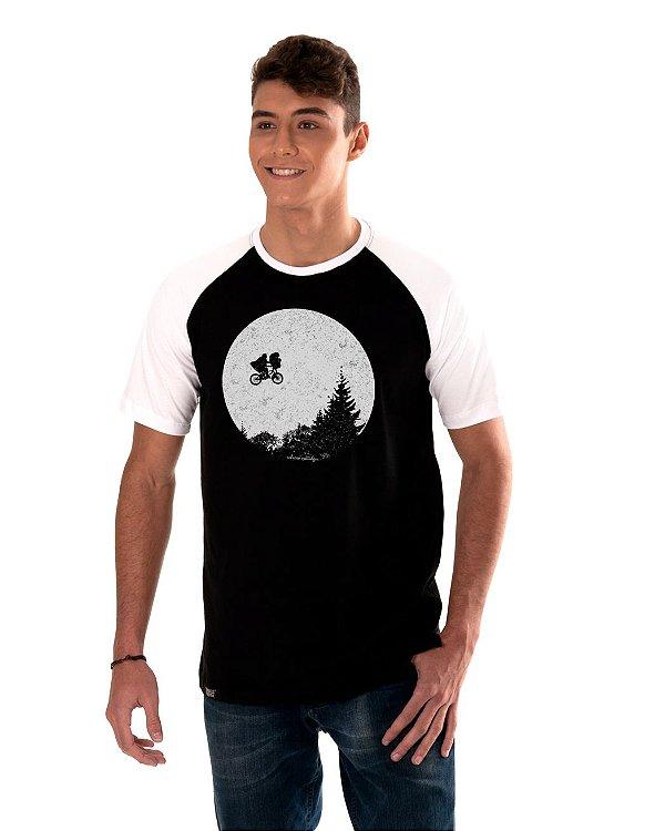 Camiseta Raglan Longline - ET
