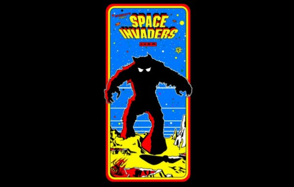 Camisetas - Space invaders