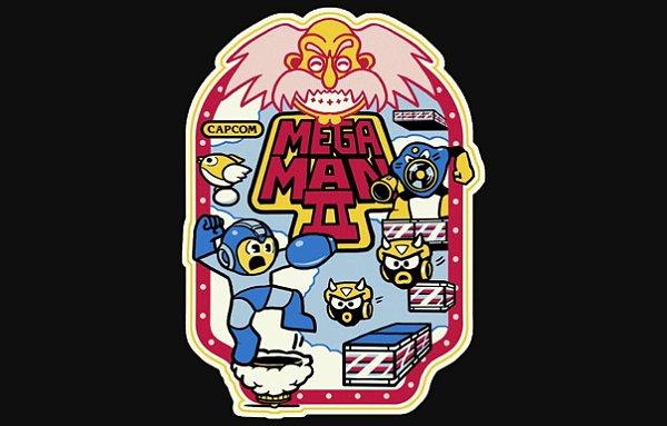 Camisetas - Mega man