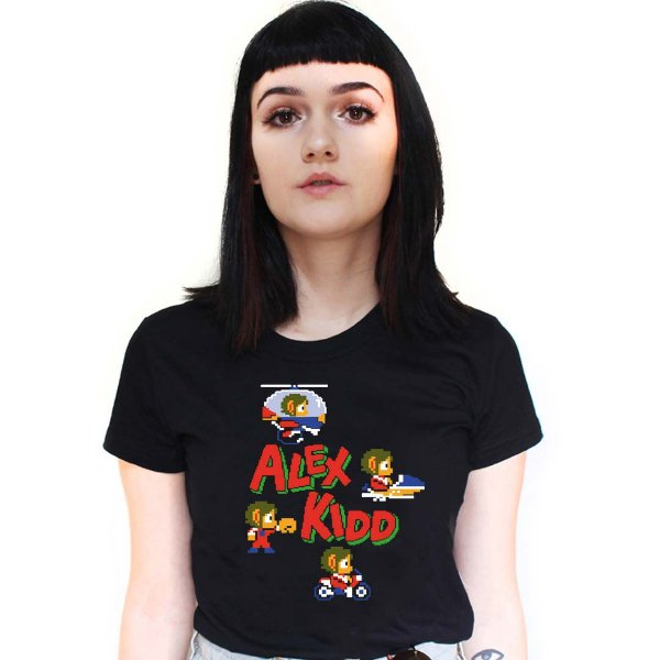 Camiseta Alex Kidd