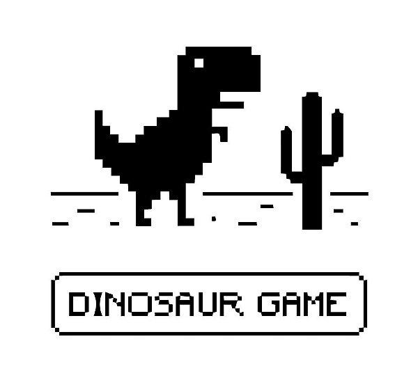 Camiseta Dinossauro Game
