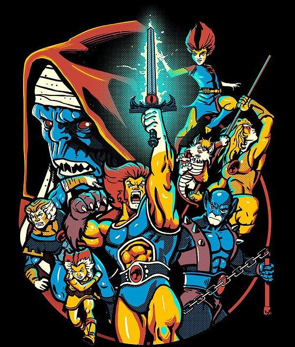 Camiseta Thundercats Personagens