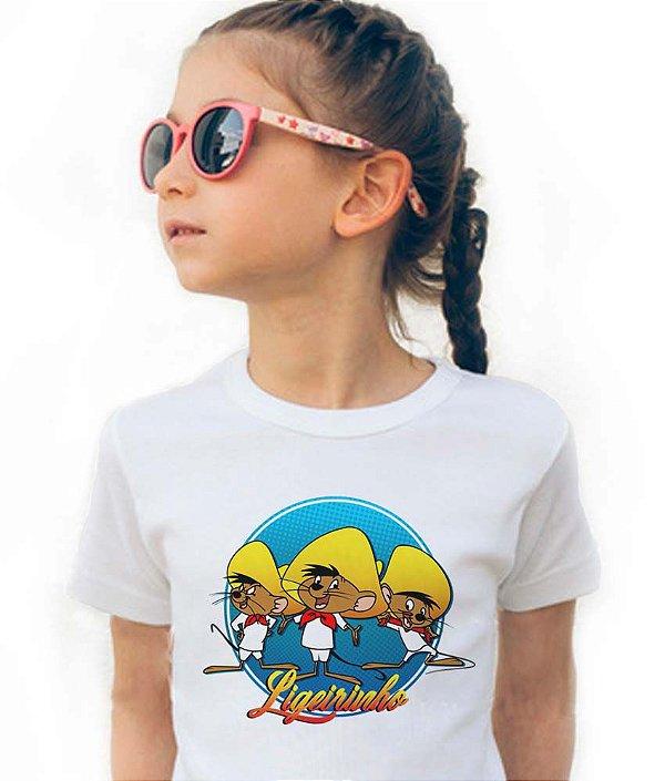 Camiseta Ligeirinho - Infantil