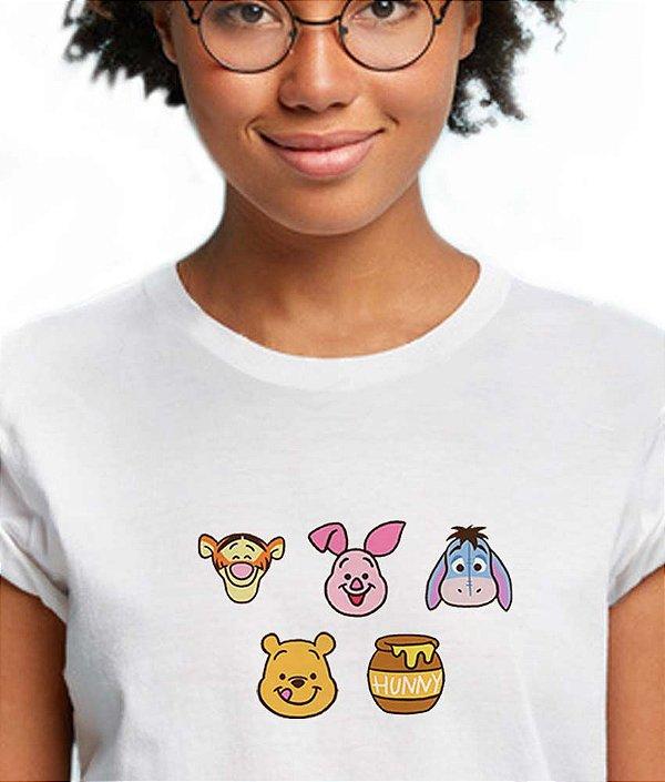 Camiseta Ursinho Puff