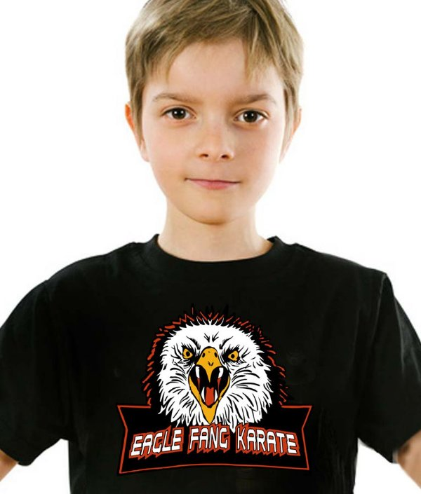 Camiseta Infantil Eagle Fang Karate