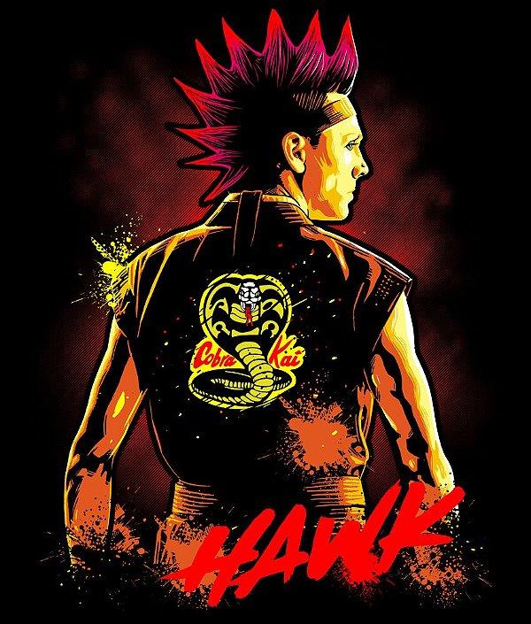 Camiseta Cobra Kai Hawk