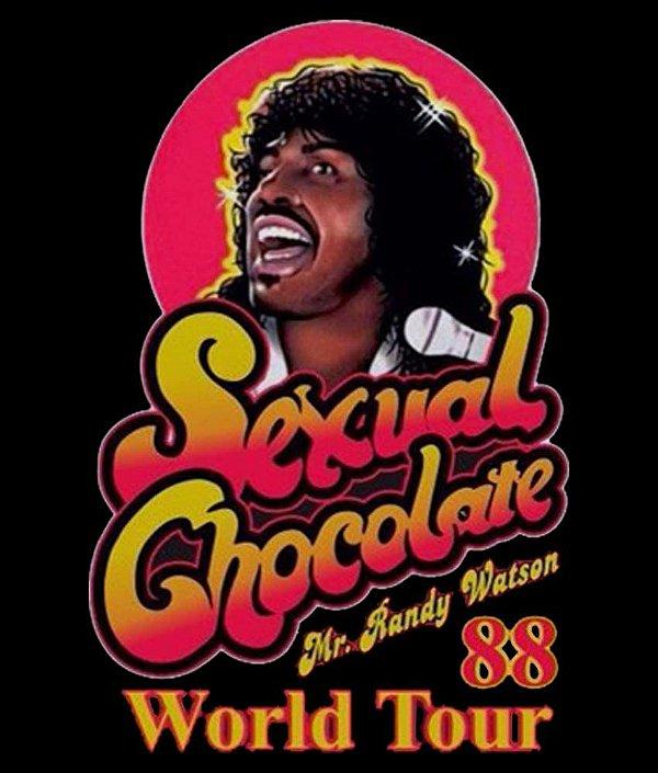 Camiseta Chocolate Sensual