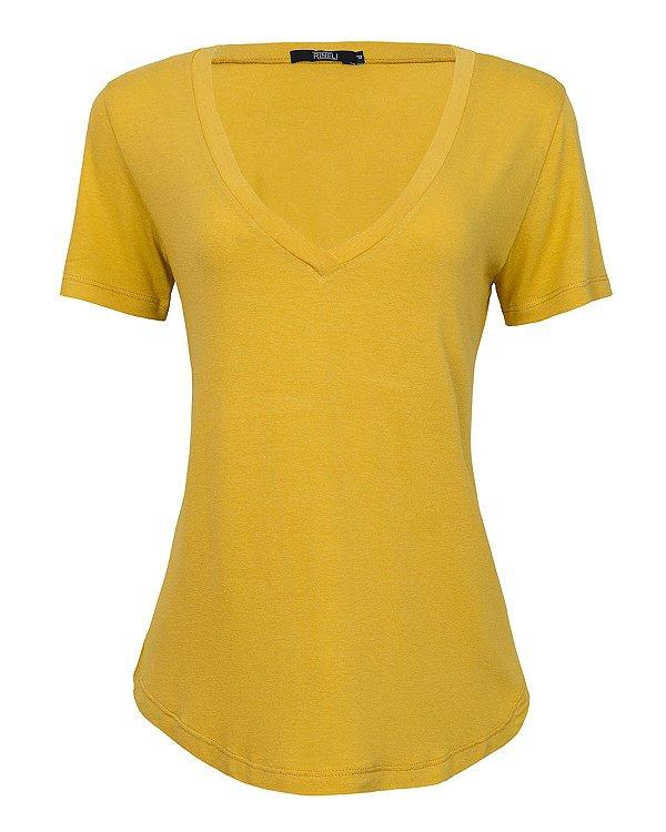 T-shirt Ana - Mostarda