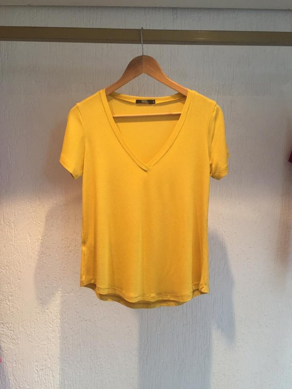 T-shirt Ana Mostarda